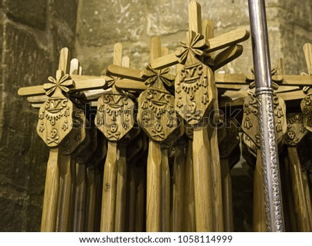 Canes of Holy Week in Holy Week, religion and faith #1058114999
