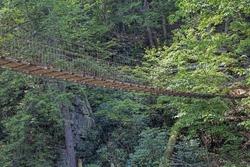 Caney Creek Footbridge