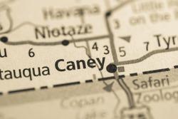 Caney. Kansas. USA.