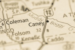 Caney. Oklahoma. USA
