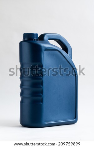 canister with machine oil #209759899