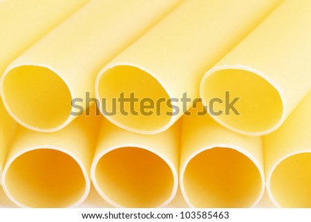 Cannelloni - the Italian paste in the form of large tubules