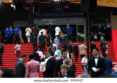 Cannes during the cinema festival