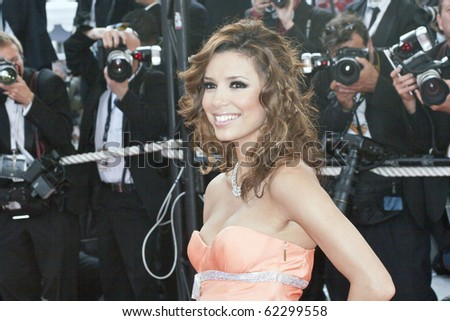 CANNES, FRANCE - MAY 28: Actress Eva Longoria attends the premiere of 'Transylvania' during the 59th International Cannes Film Festival closing ceremony at the Palais May 28, 2006 in Cannes, France
