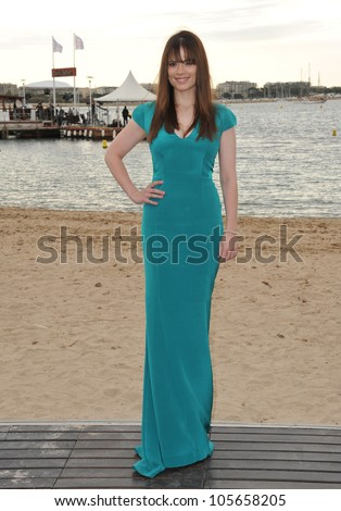 "CANNES, FRANCE - MAY 18, 2012: British actress Hayley Atwell promoting her new movie ""10 Things I Hate About Life"" at the 65th Festival de Cannes. May 18, 2012  Cannes, France"
