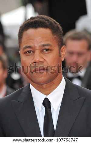 "CANNES, FRANCE - MAY 12, 2010: Cuba Gooding Jr  at the premiere of ""Robin Hood"" the opening film at the 63rd Festival de Cannes."