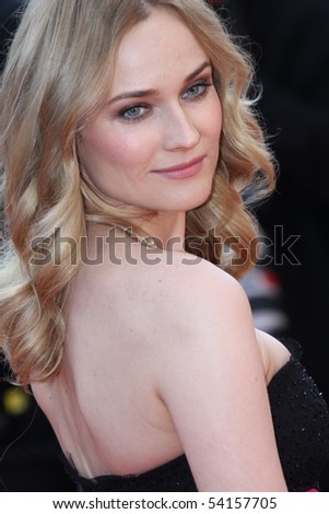 CANNES, FRANCE - MAY 23:  Diane Kruger attends the Palme d'Or Closing Ceremony held at the Palais  during the 63rd  Cannes Film Festival on May 23, 2010 in Cannes, France