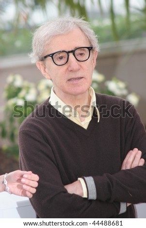 CANNES, FRANCE - MAY 17: Director Woody Allen attends the Vicky Christina Barcelona photocall at the Palais des Festivals during the 61st Cannes  Film Festival on May 17, 2008 in Cannes, France