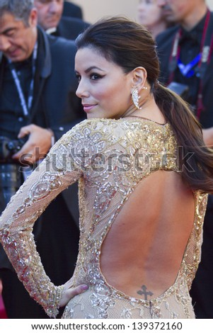 CANNES, FRANCE - MAY 17: Eva Longoria attends the Premiere of 'Le Passe' (The Past) during The 66th Annual Cannes Film Festival at Palais des Festivals on May 17, 2013 in Cannes, France.
