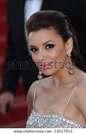 CANNES, FRANCE - MAY 13: Eva Longoria Parker  attends the Premiere of 'On Tour' at the Palais des Festivals during the 63rd   Cannes Film Festival on May 13, 2010 in Cannes, France.