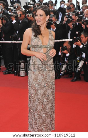 "CANNES, FRANCE - MAY 17, 2009: Evangeline Lilly at the premiere of ""Vengeance"" in competition at the 62nd Festival de Cannes."