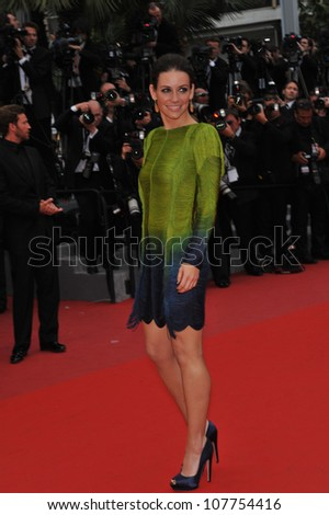 "CANNES, FRANCE - MAY 15, 2010: Evangeline Lilly at the premiere of Woody Allen's ""You Will Meet A Tall Dark Stranger"" at the 63rd Festival de Cannes."