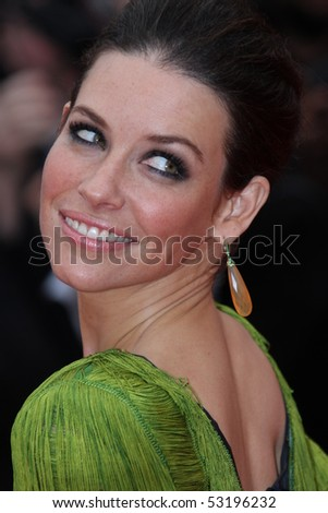 CANNES, FRANCE - MAY 15: Evangeline Lilly attends the 'You Will Meet A Tall Dark Stranger' Premiere held at the Palais des Festivals during the 63rd Cannes  Festival on May 15, 2010 in Cannes, France