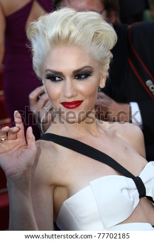 CANNES, FRANCE - MAY 20: Gwen Stefani attends the 'This Must Be The Place' premiere during the 64th Annual Cannes Film Festival at Palais des Festivals on May 20, 2011 in Cannes, France