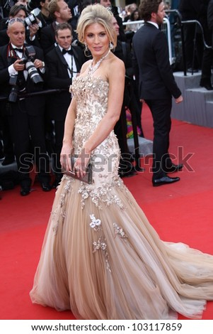 CANNES, FRANCE - MAY 18: Hofit Golan attends the 'Once Upon A Time' Premiere during 65th Annual Cannes Film Festival during at Palais des Festivals on May 18, 2012 in Cannes, France.