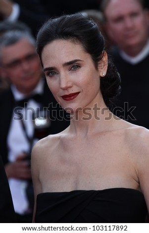 CANNES, FRANCE - MAY 18: Jennifer Connelly attends the 'Once Upon A Time' Premiere during 65th Annual Cannes Film Festival during at Palais des Festivals on May 18, 2012 in Cannes, France.