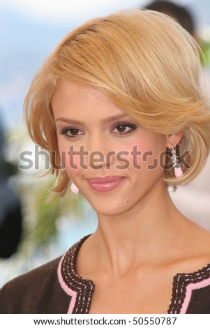 CANNES, FRANCE - MAY 18: Jessica Alba attends a photocall promoting the film 'Sin City' at the Palais during the 58th International Cannes Film Festival May 18, 2005 in Cannes, France