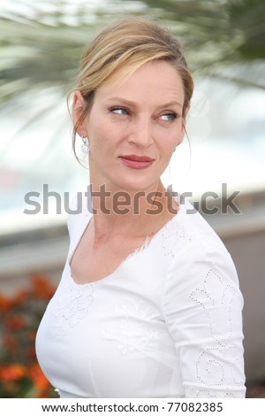 CANNES, FRANCE - MAY 11: Jury member Uma Thurman attends the Jury Photocall at the Palais des Festivals during the 64th Cannes Film Festival on May 11, 2011 in Cannes, France.