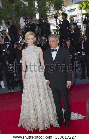 CANNES, FRANCE - MAY 23: Jury members Nicole Kidman and Ang Lee attend the 'Nebraska' premiere during The 66th Cannes Film Festival at the Palais des Festival on May 23, 2013 in Cannes, France.