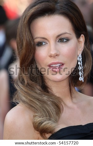 CANNES, FRANCE - MAY 23:  Kate Beckinsale attends the Palme d'Or Closing Ceremony held at the Palais  during the 63rd  Cannes Film Festival on May 23, 2010 in Cannes, France - stock photo