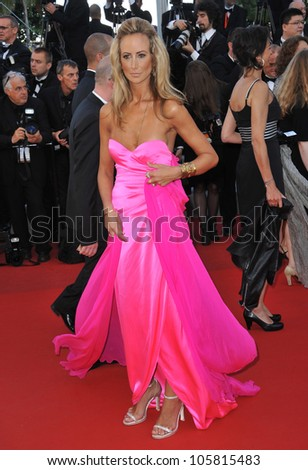 "CANNES, FRANCE - MAY 22, 2012: Lady Victoria Hervey at the premiere of ""Killing Them Softly"" in Cannes. May 22, 2012  Cannes, France"