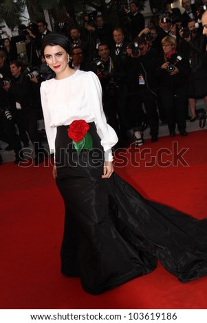 CANNES, FRANCE - MAY 27: Leila Hatami attends the Closing Ceremony and the 'Therese Desqueyroux' Premiere during the 65th  Cannes Festival at Palais on May 27, 2012 in Cannes, France