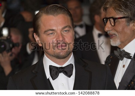CANNES, FRANCE - MAY 15:  Leonardo DiCaprio attends 'The Great Gatsby' Premiere during the 66th Annual Cannes Film Festival at the Theatre Lumiere on May 15, 2013 in Cannes, France.