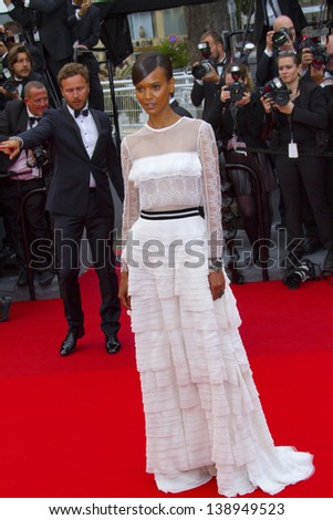 CANNES, FRANCE - MAY 16: Lyia Kebede attends the Premiere of 'Jeune & Jolie' (Young & Beautiful) at The 66th Annual Cannes Film Festival at Palais des Festivals on May 16, 2013 in Cannes, France.