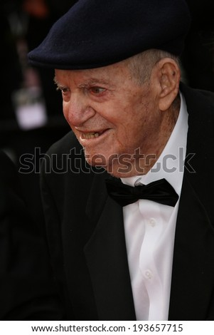 CANNES, FRANCE - MAY 16: Menahem Golan attends the 'How To Train Your Dragon 2' premiere during the 67th Annual Cannes Film Festival on May 16, 2014 in Cannes, France.