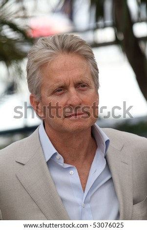 CANNES, FRANCE - MAY 14: Michael Douglas attends the 'Wall Street: Money Never Sleeps' Photo Call held at the Palais des Festivals during the 63rd Cannes Film Festival on May 14, 2010 in Cannes, France