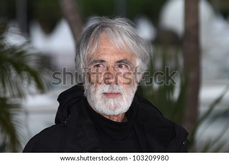 CANNES, FRANCE - MAY 20: Michael Haneke attends the 'Amour' Photocall during the 65th Annual Cannes Film Festival at Palais des Festivals on May 20, 2012 in Cannes, France.