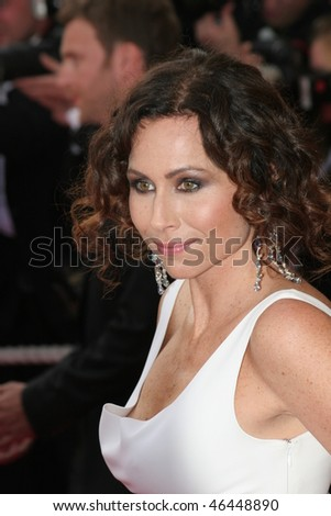 CANNES, FRANCE - MAY 16: Minnie Driver attends the opening evening of the FIF 2007 with the screening of the Wong Kar Wai's movie ''My Blueberry Nights'' on May 16, 2007 in Paris, France.