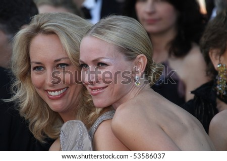 CANNES, FRANCE - MAY 20:  Naomi Watts and Former CIA agent Valerie Plame attend the 'Fair Game' Premiere held at the Palais  during the 63rd  Cannes Film Festival on May 20, 2010 in Cannes, France