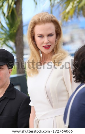 CANNES, FRANCE - MAY 14: Nicole Kidman attends the 'Grace of Monaco' photocall at the 67th Annual Cannes Film Festival on May 14, 2014 in Cannes, France.