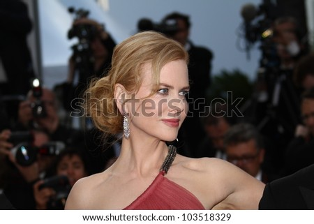 CANNES, FRANCE - MAY 24: Nicole Kidman attends the 'The Paperboy' premiere during the 65th Annual Cannes Film Festival at Palais des Festivals on May 24, 2012 in Cannes, France