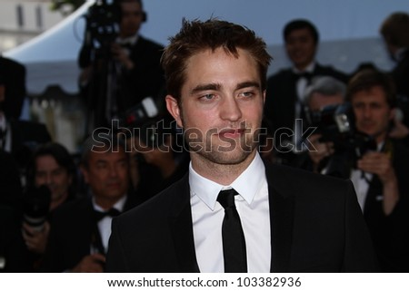 CANNES, FRANCE - MAY 23: Robert Pattinson attends the 'On The Road' Premiere during the 65th Annual Cannes Film Festival at Palais des Festivals on May 23, 2012 in Cannes, France.