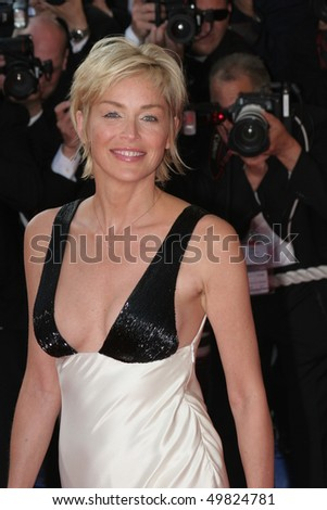 CANNES, FRANCE - MAY 20: Sharon Stone attends the Cannes Film Festival 60th Anniversary event during the 60th International Cannes Film Festival on May 20, 2007 in Cannes, France