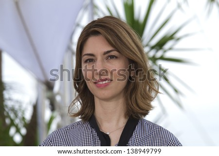 CANNES, FRANCE - MAY 16: Sofia Coppola attends 'The Bling Ring' photocall during the 66th  Cannes Film Festival at Palais des Festival on May 16, 2013 in Cannes, France.