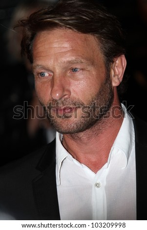CANNES, FRANCE - MAY 19: Thomas Kretschmann attends the 'Dario Argento's Dracula 3D' Premiere during the 65th Annual Cannes Film Festival at Palais des Festivals on May 19, 2012 in Cannes, France.