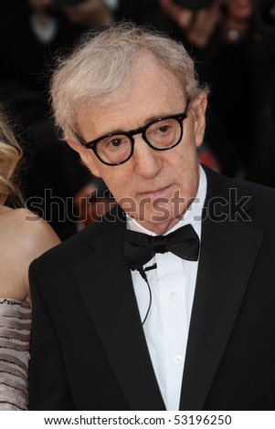 CANNES, FRANCE - MAY 15: Woody Allen attends the 'You Will Meet A Tall Dark Stranger' Premiere held at the Palais des Festivals during the 63rd Cannes  Festival on May 15, 2010 in Cannes, France