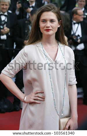 CANNES  - MAY 26: Bonnie Wright at the premiere of 'Mud' during the 65th Cannes Film Festival on May 26, 2012 in Cannes, France