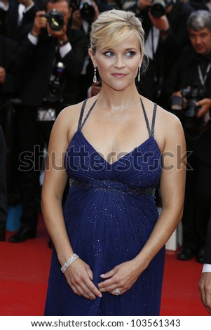 CANNES  - MAY 26: Reese Witherspoon at the premiere of 'Mud' during the 65th Cannes Film Festival on May 26, 2012 in Cannes, France