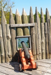 cannon at Fort Loudoun