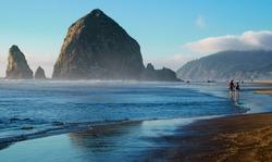 Cannon Beach Landscape, Oregon USA