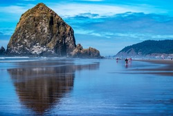 Cannon Beach, Oregon coast USA.