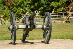 Cannon from Front at Gettysburg