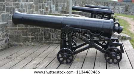 Cannon of the Citadel of Quebec is a Classified FedThe Citadel of Quebec is a Classified Federal Heritage Building because of its historical associations and architectural and environmental values.era #1134469466