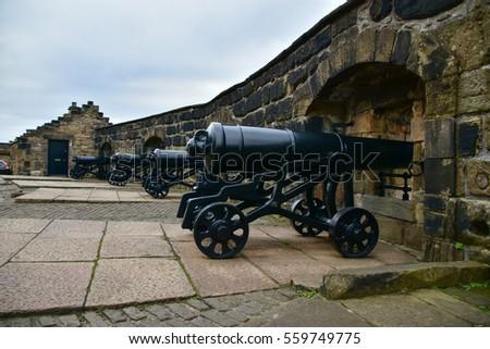 cannons at half moon battery ...