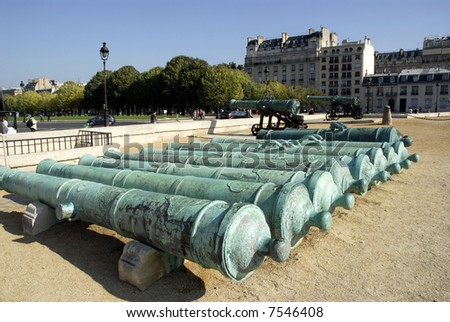 Cannons at the Invalides