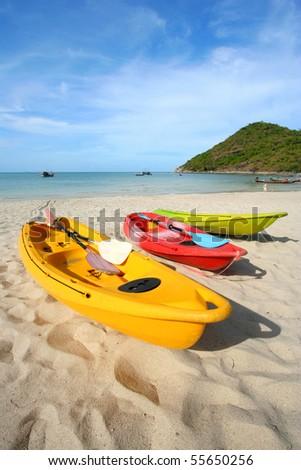 canoe & Tropic Island